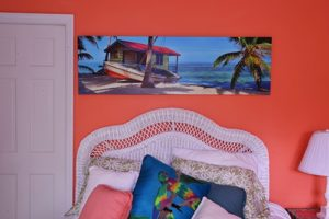caribbean panoramic canvas print