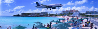 Happy Landings On St. Maarten