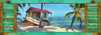 Belize Breeze with Shutter